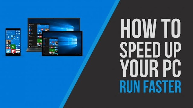 Speed up your Windows Computer or Laptop
