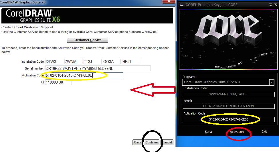 coreldraw x6 32 bit full keygen