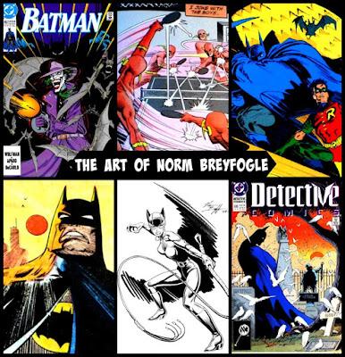 Norm Breyfogle Batman Art