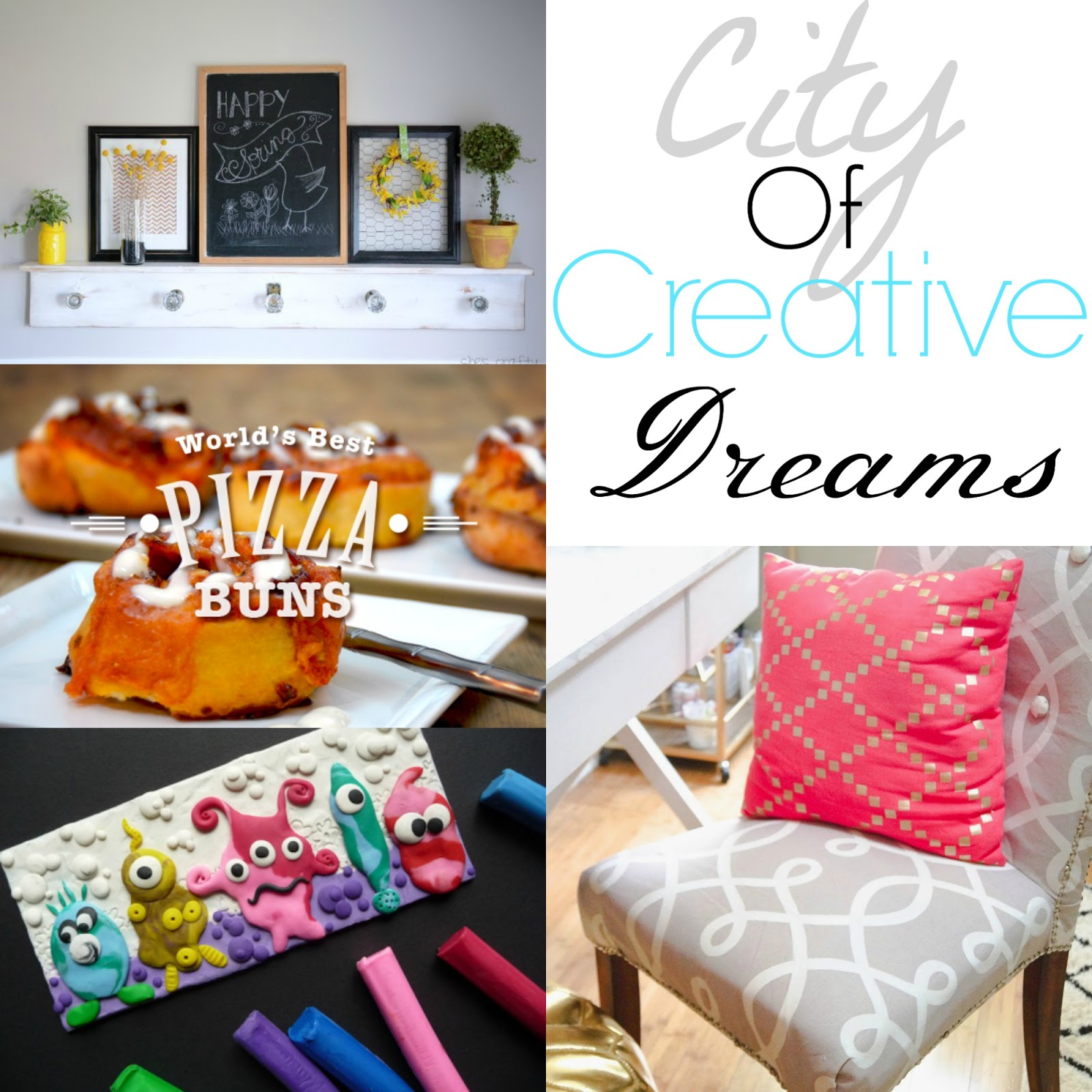 city of creative dreams - city of links link party