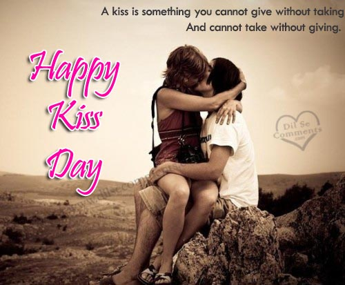 happy kiss day 2018