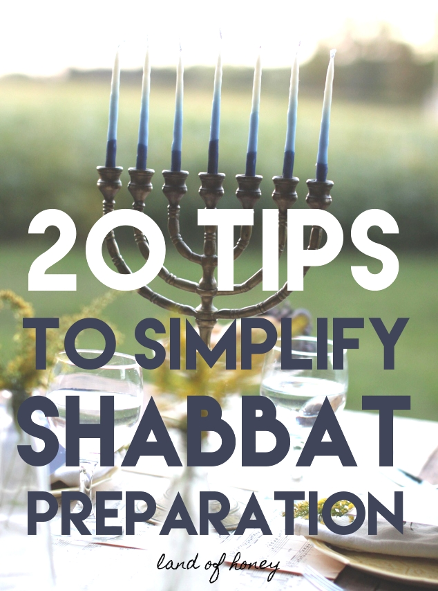 Make Shabbat Prep Easier