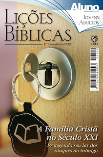 revista escola dominical cpad 2013