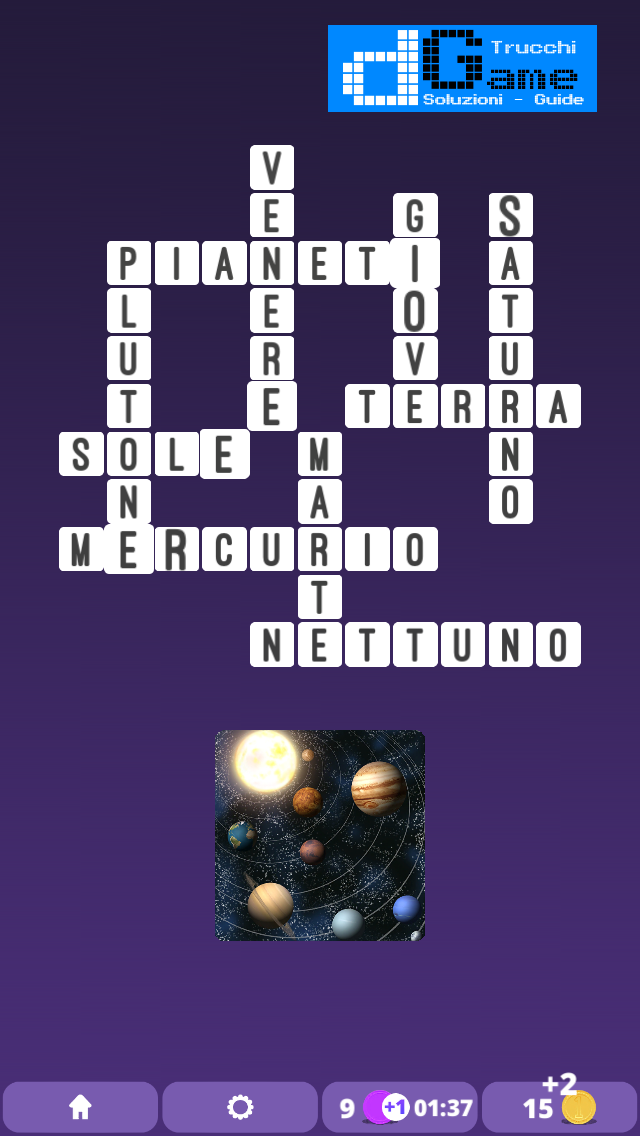 Soluzioni One Clue Crossword livello 1 Schema  10 (Cruciverba illustrato)  | Parole e foto