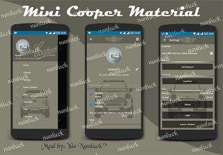 BBM Mini Cooper Material Design Versi 2.10.0.31 Apk Free Download