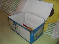 recupero vecchie scatole di latta