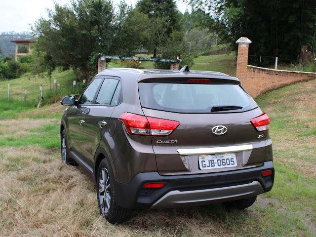 Hyundai Creta Prestige 2.0 Automático 2018 - traseira