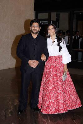 Arshad Warsi Maria Goretti in Zaheer Khan engagement