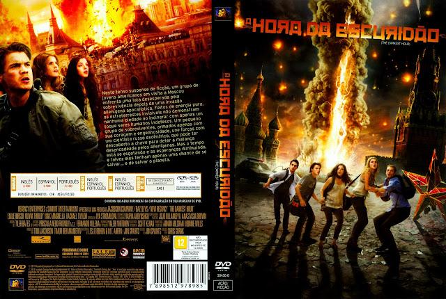 Capa DVD A Hora da Escuridão