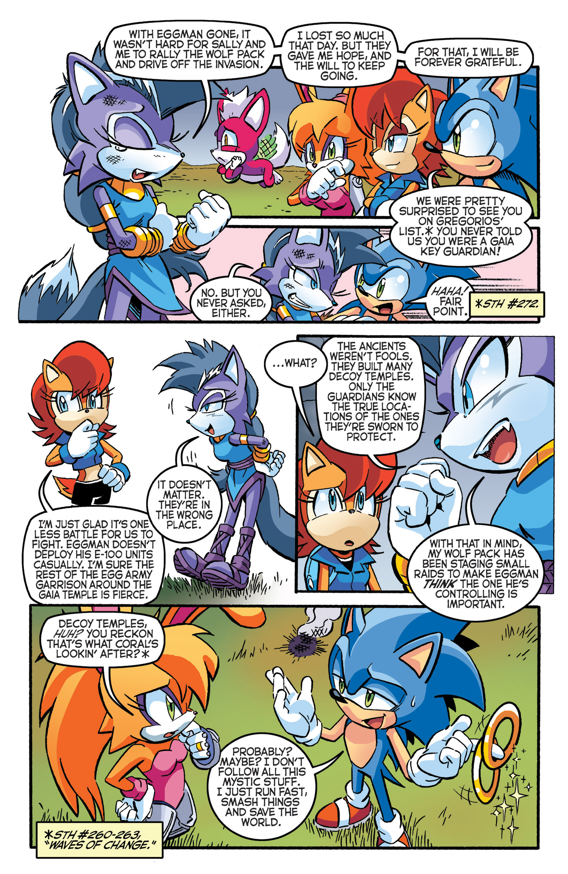 Read online Sonic The Hedgehog comic -  Issue #277 - 10