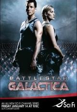 "Carátula del DVD: ""Battlestar Galactica"""
