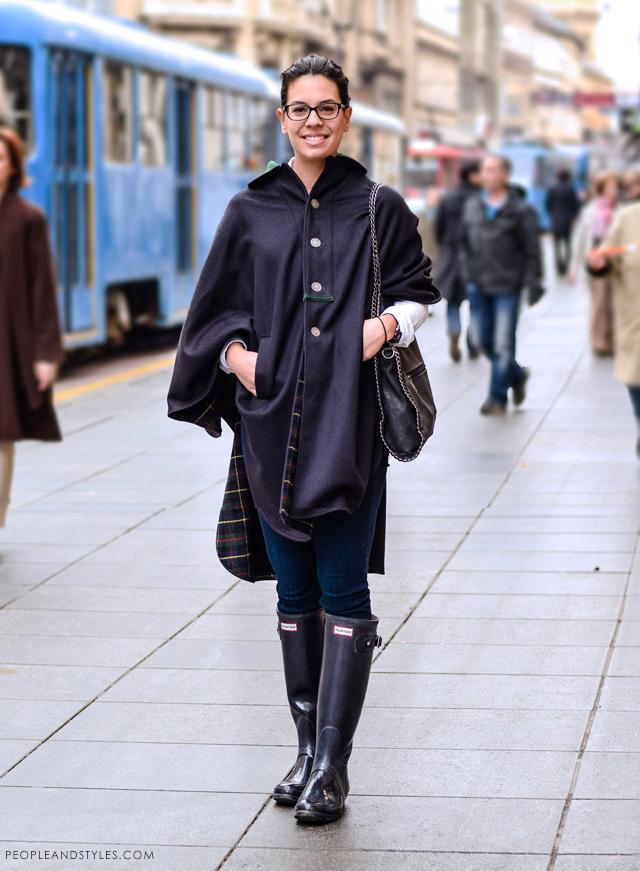 Matea Cerovac latest street winter 2014 fashion