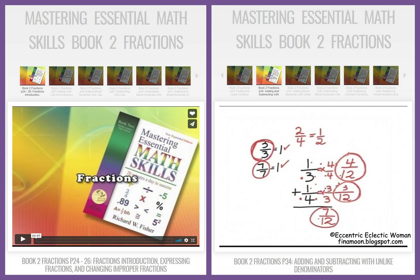 Eccentric Eclectic Woman Math Essentials Math Refresher For Adults Review