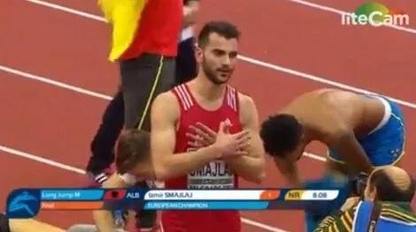 Izmir Smajlaj champion of Europe in long jump