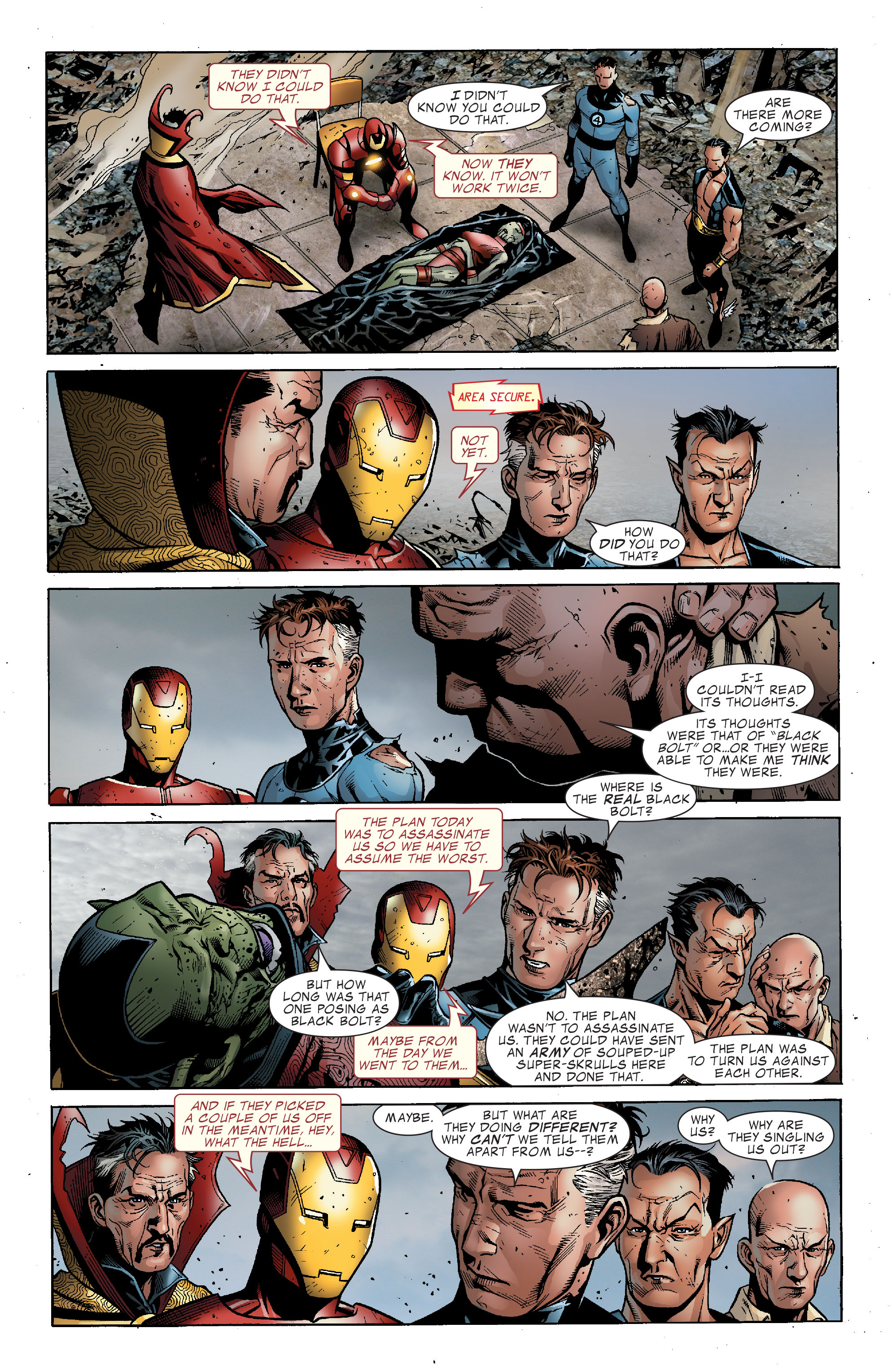 Read online Secret Invasion: The Infiltration comic -  Issue #2 - 18