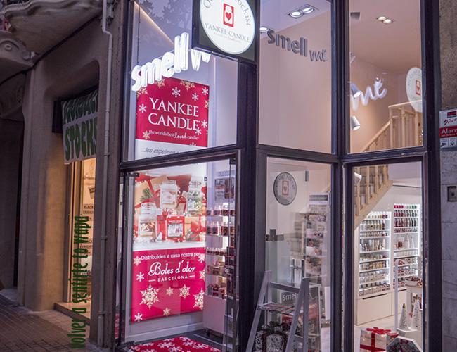 Smell me - tienda Yankee Candle en Barcelona