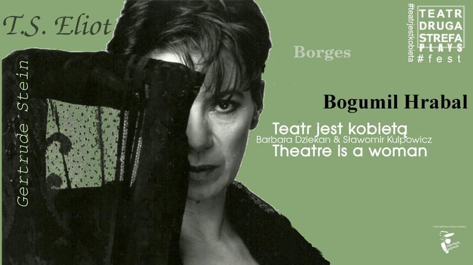 """140141973cc9aa Dlaczego? Barbarę Dziekan uwielbiam. To aktorka charyzmatyczna i  utalentowana. Tylko że jakoś tego w spektaklu """"Teatr jest kobietą"""" nie  widać…"""