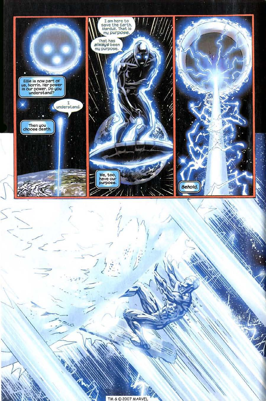 Read online Silver Surfer (2003) comic -  Issue #14 - 4