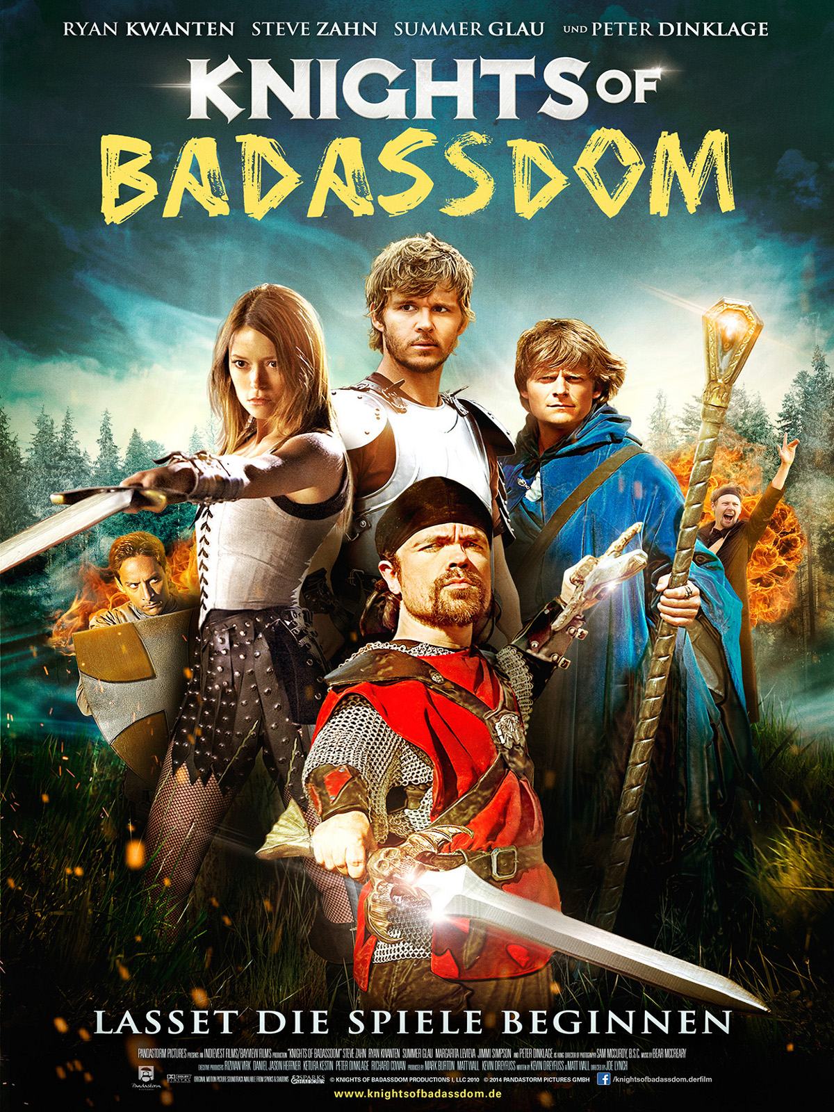 Knights of Badassdom อัศวินสุดเพี้ยน เกรียนกู้โลก [HD][พากย์ไทย]