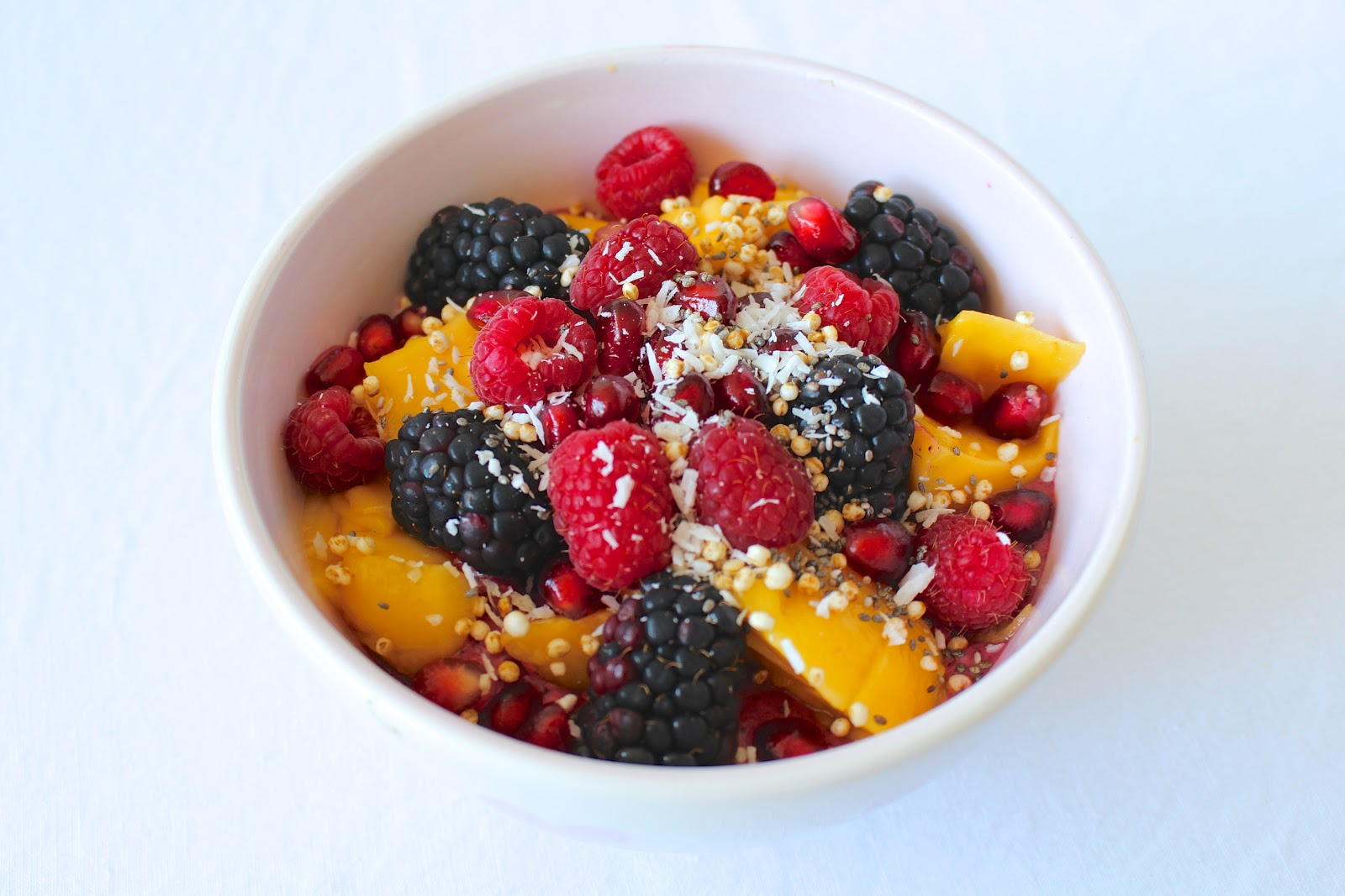 Açaí bowl recipe