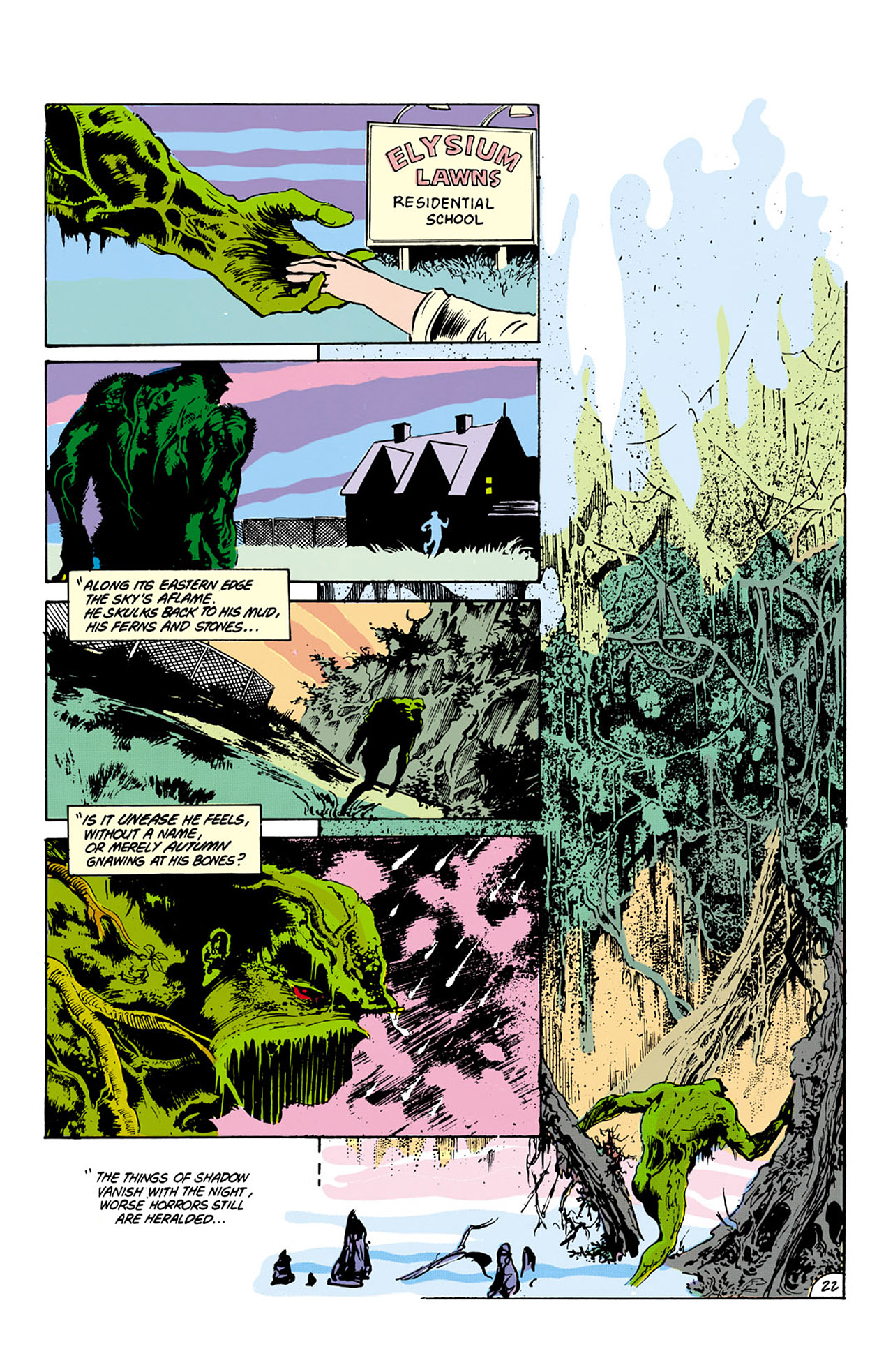 Swamp Thing (1982) Issue #27 #35 - English 22
