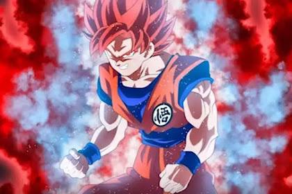 Form baru Goku merupakan Gabungan dari Super Saiyan God dan Super Saiyan Blue?