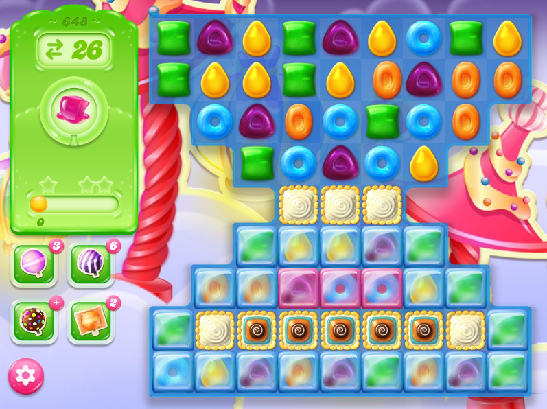 Candy Crush Jelly Saga level 628
