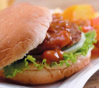 Beef Burger with Mushroom Sauce Recipe