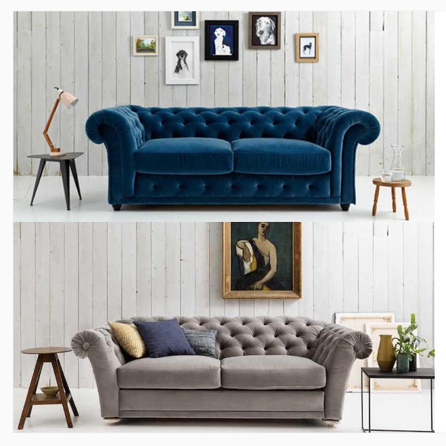 Clementine & Churchill chesterfield sofa beds from Love Your Home