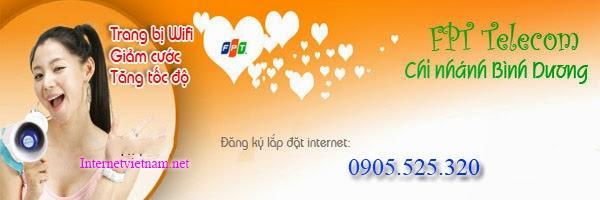 Lắp Mạng Internet FPT Phường Phú Lợi