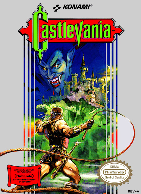 castlevania games box art
