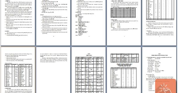 Contoh Format Buku Program - Gontoh