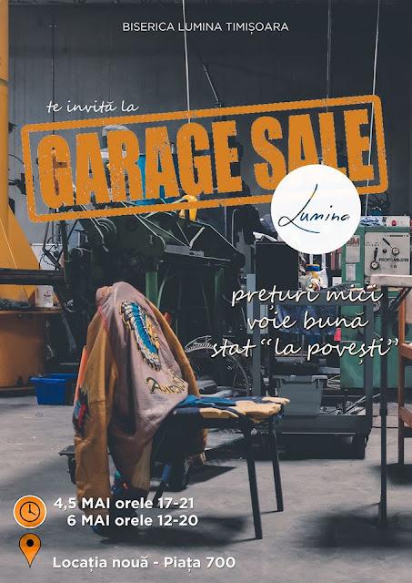 Garage Sale la Timisoara ( 4-5 mai 2017)