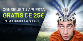 luckia apuesta gratis Eurocopa sub-21 16-24 junio
