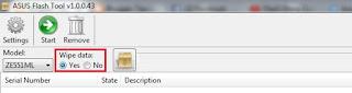 Cara flash Asus Zenfone 2 ZE551ML Via Flashtool RAW File 100% Tested
