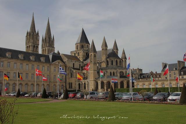 Opactwo w Caen