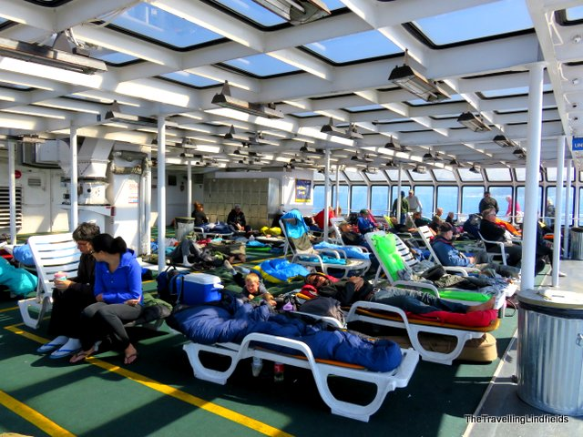 Solarium on the Alaska Marine Highway