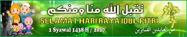 Banner Selamat Idul Fitri 3