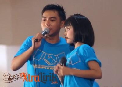 Lirik Lagu Saling Sayang Tasya feat Gerry
