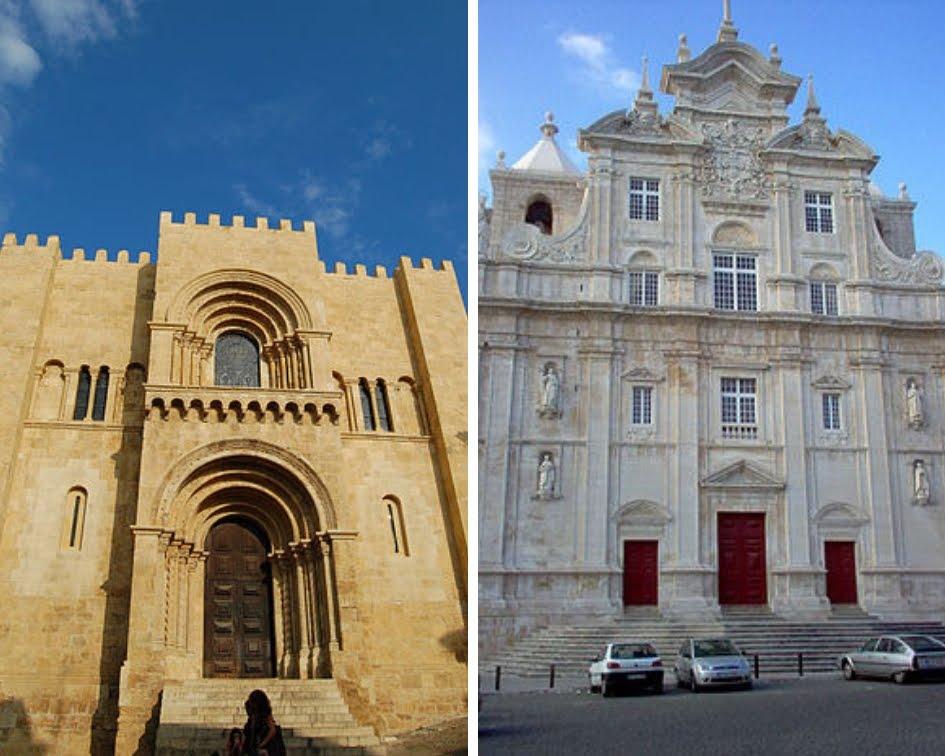 Sé velha e  Nova_ Coimbra
