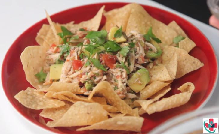 Healthy and Delicious Avocado Chicken Salad