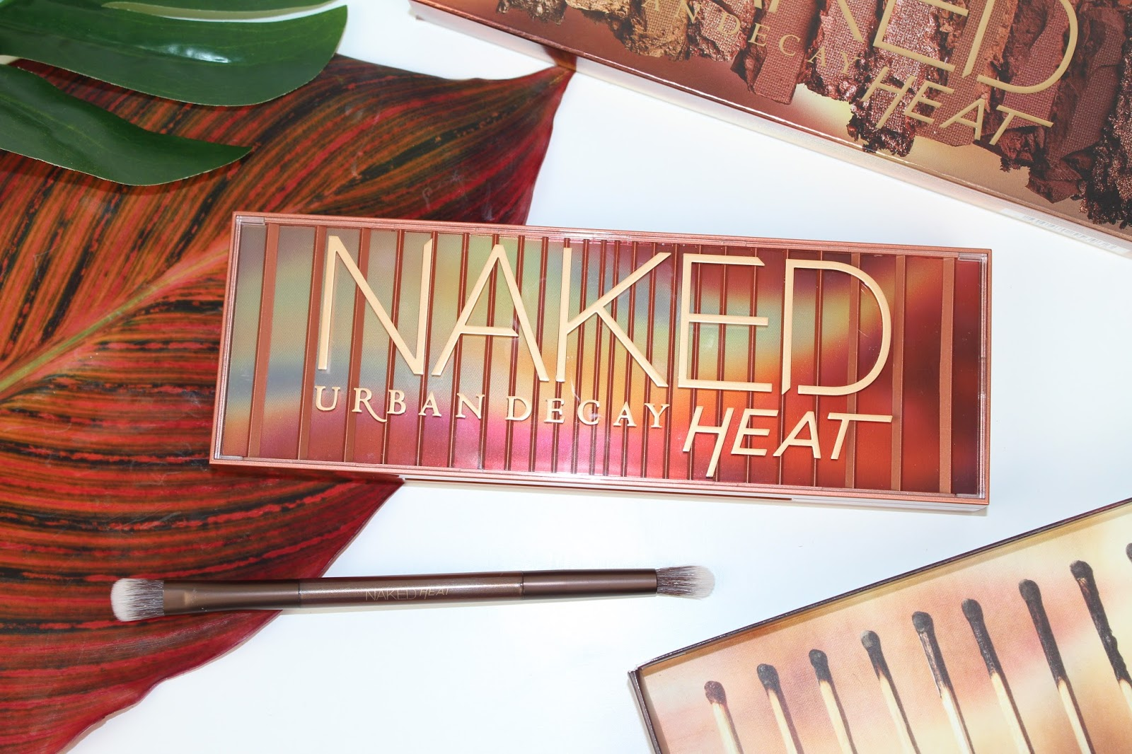 Urban Decay Naked Heat Palette Review, Swatches and Eye Look