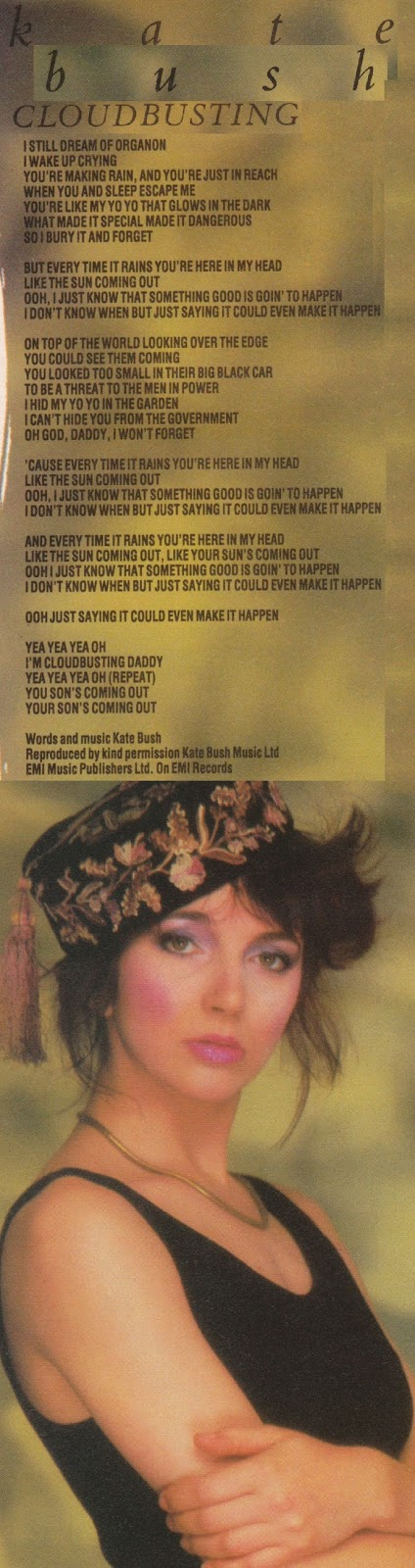 Top Of The Pops 80s: Kate Bush - Cloudbusting - 1985