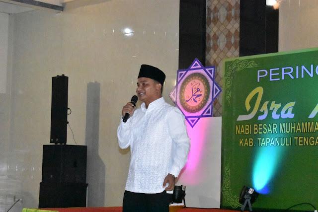 Pemkab Tapteng Peringati Isra' Mi'raj Nabi Besar  Muhammad SAW 1439 H/2018 M