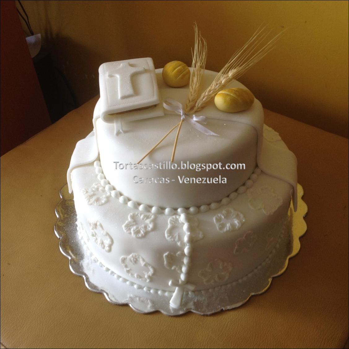 tortas tematicas de primera comunion