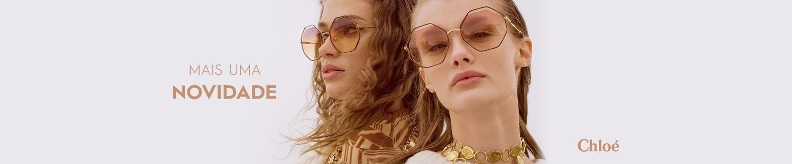 8a1f7c00a Percebemos, nestes modelos de óculos de sol Chloé , o design leve da marca,  que ao mesmo tempo deixa a mulher confortável e estilosa ao mesmo tempo.
