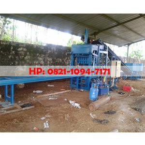 Mesin Batako dan Paving Block Hidrolik Semi Otomatis