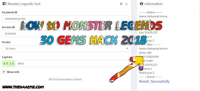 monster legends session id hack 2018