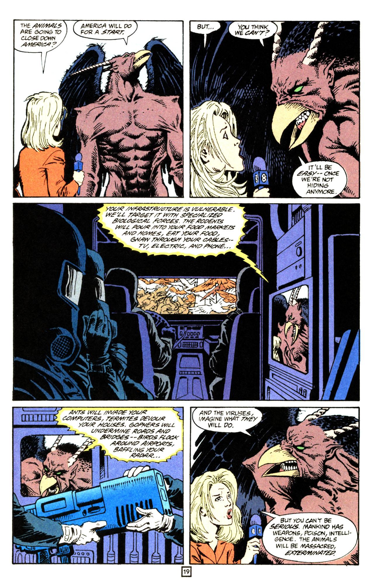 Read online Animal Man (1988) comic -  Issue #71 - 20