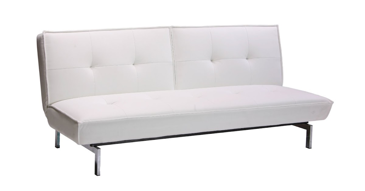 Convertible Sofa Belle Convertible Futon Sofa Bed White